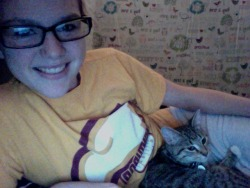 Oh you know, just chillin with Olive.