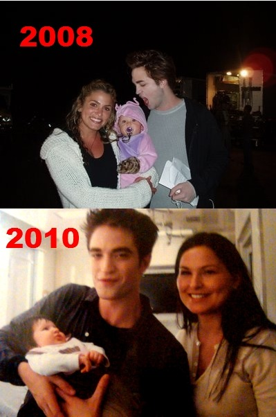 kstewawesome:  fuckyeahrobsten:  fatoshleo:  lol! Rob and Babies..  he became more sweet through the years tho.. hint hint lol