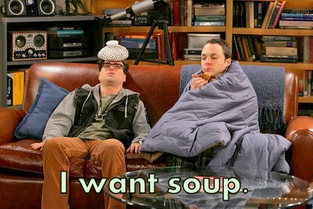 "nycolessecret:  :(  ""Leonard go make me some soup"""