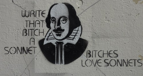 lievelotje:  bitches love sonnets by: andgodcreatedwoman