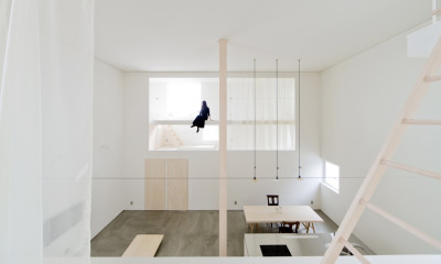 loveeejapan:  Jun Igarashi  What an amazing space. I wish I had designed it. I wish I lived in it. And I wish I worked in it. Goodness me. It's so clean and simple, but absolutely breathtaking.