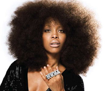 Erykah Badu with Natural HAIR style!!!