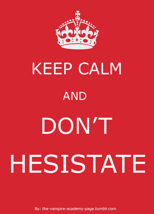 the-vampire-academy-page:  Dimitri's lesson.  Keep calm and don't hesistate