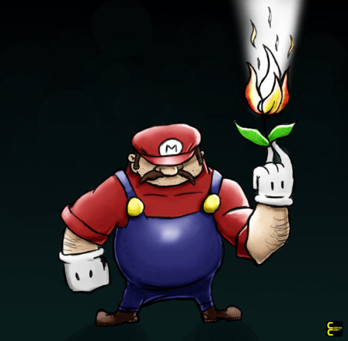 Super Mario by ~CoopahCraft on deviantART