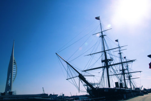 rynzrynz:  HMS Warrior at Portsmouth. It was a great experience.
