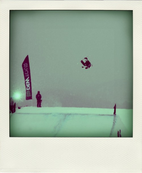 Got a chance to check out the Dew Tour stop in Breckenridge this weekend before hitting (the completely stopped) road to Denver. Some sick shredding going down despite blizzard like white out conditions.