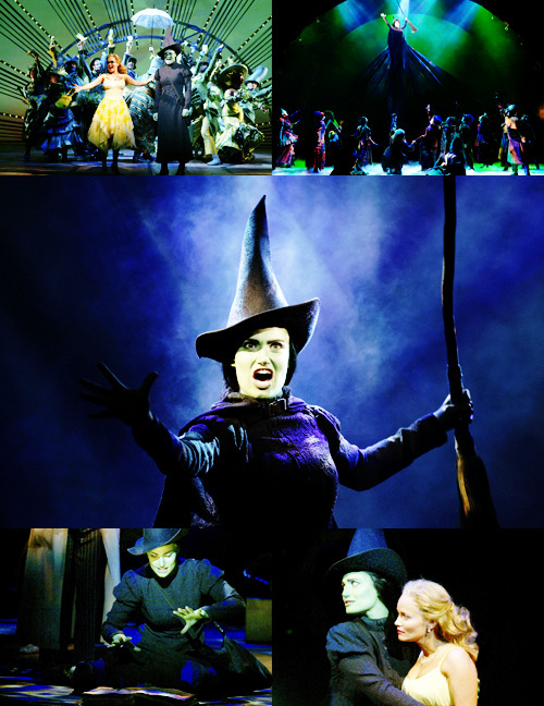 theverbalthing | boleyns:  Top five favourite female characters: 05. Elphaba  One question haunts and hurts / Too much, too much to mention: / Was I really seeking good / Or just seeking attention? / Is that all good deeds are / When looked at with an ice-cold eye? / If that's all good deeds are / Maybe that's the reason why / No good deed goes unpunished