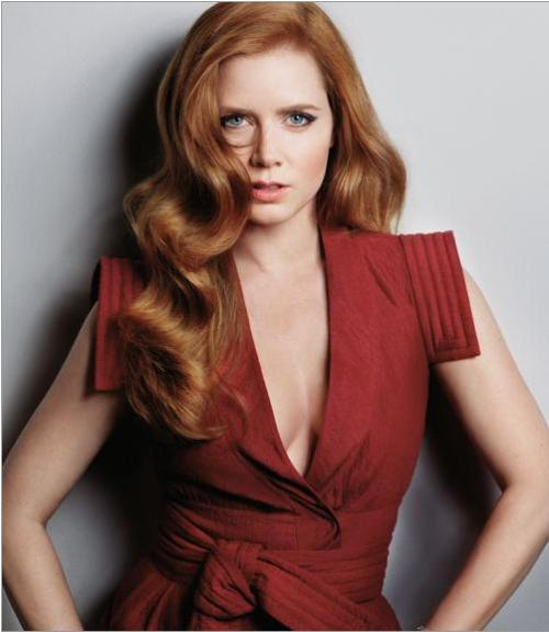 Marie Claire, January 2011 photographer: Mark Abrahams Amy Adams cascading red hair Amy Adams Cover Shoot - Pictures of Amy Adams - Marie Claire // carmaluna