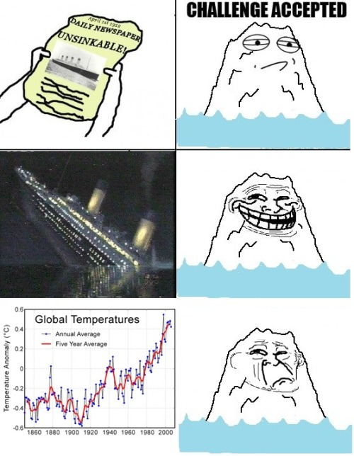 And one more great Rage comic. Smug ass iceberg…