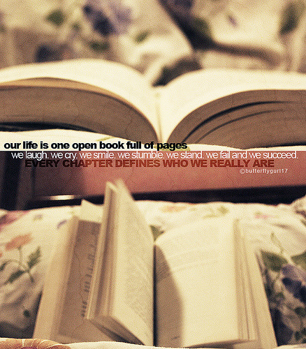 Every Chapter Defines Who We Really Are