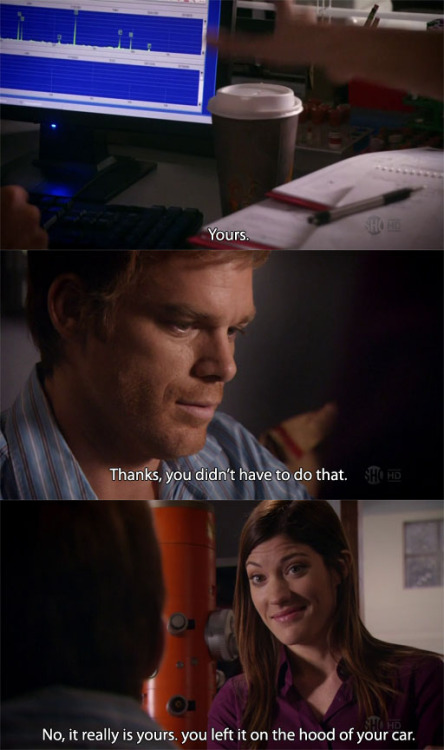 Dexter 5.05 First Blood