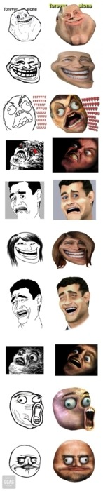 9gag:  Just some faces…