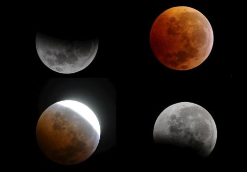 itsfullofstars:  Phases of the eclipse over El Salvador. Source: EFE