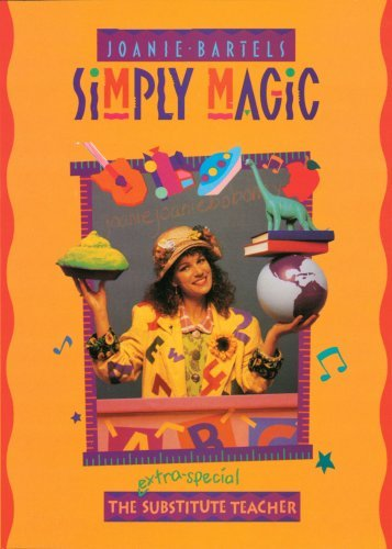 "Joanie Bartels ""Simply Magic"" magneticpoetsofhonors asked:There was a post a while back, at least I thought I saw it on here. It was of this video I watched as a kid. This crazy lady substituted for a class and she called space/went to space. I know she also ordered a pie, that, when delivered, was this crazy thing that moved and was green. The post was the cover of the VHS. It had a lady with curly dark hair with a lot of random things rotating around her head. I know this is rather vague, but do you know what I'm talking about?"