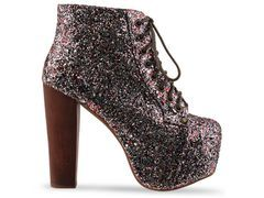 Shoe of the day: Jeffrey Campbell Glitter Lita