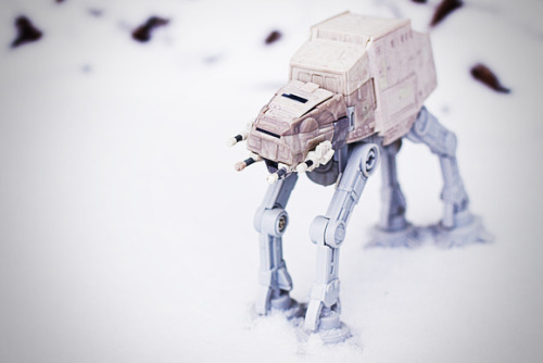 My AT-AT Enjoying the Atlanta Snow #starwars - click pic to buy a print