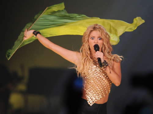 Got a funny caption for this pic of Shakira? Send it to us, and we may use it in tomorrow's LOL Pics!