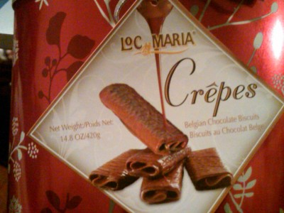 I'm eating these obsessively. Damn these holiday gifts.