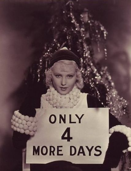 June Lang Christmas - 1930s