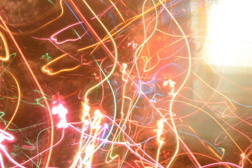 this was my boredom with a slow shutter speed and the christmas tree.