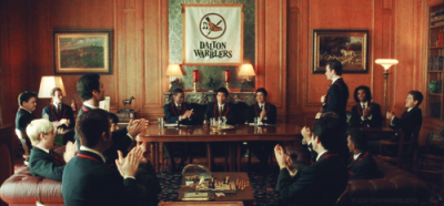 thesocialllama:  soldmysoultoradio:  fuckyeahwarblers:  The classy Warblers and their golf-claps.    #I want to see drunk!Warblers. BAHAHA  I always think that blond one is Sam.