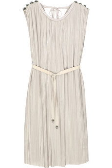 long time favorite 3.1 Phillip Lim pleated silk-chiffon shift dress  now for €313 on theoutnet.com!