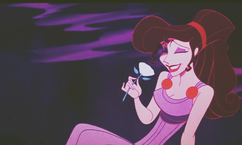 """At least out loud, I won't say I'm in love""  - Meg from Disney's Hercules  This might very well be my favorite part of the movie. Oh yeah, have you guys heard the Spanish version? No? You should. :) It's also pretty awesome. :D Click [here] to watch."