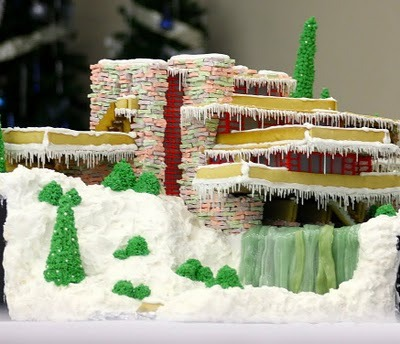 10 iconic buildings recreated in gingerbread.