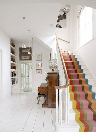 homedesigning:  design traveller: Styling inspiration: organic stripes