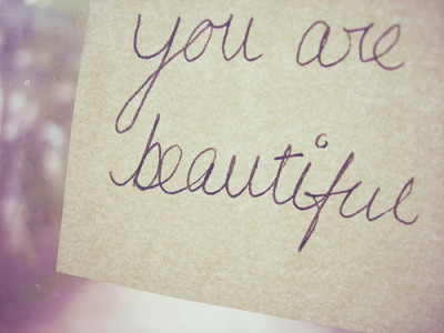 Each and every single one of you. You are all beautiful. <3