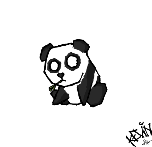 Bamboo - Done by request  Proportions be funky, though I care not enough to change it.. it was a quick draw anyhow