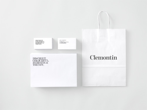 The Jewellery Packaging made as minimalistic as possible, pure and  crisp, elements of white and ecological materials – to bring forward the  organic shapes of the jewellrey. To mark the packaging we used the  letterforms of the logotype die cutted in the boxes and stationery.