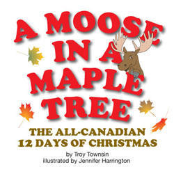 A Moose in a Maple Tree is a must-have for children, tourists, Canadians living abroad and anyone who is looking forward to a white Christmas in this wonderful country. This beautifully illustrated, durable, glossy picture book has been entirely printed and produced in Canada, and has been nominated for the Lieutenant Governor Generals Award for Children's illustrations. A Moose in a Maple Tree captures the imagination of readers with its quirky twist on the original Christmas classic while providing visually exciting stimuli that surprise and delight readers. The book can be sung or read aloud and is designed as a learning tool that will instigate discussion about all things Canadian. With Canadian icons, animals and activities this fun story is all set to become a year-round favourite.