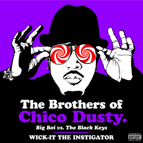 "The Brothers Of Chico Dusty Big Boi vs. The Black Keys By Wick-it the Instigator DJ Wick-it returns from the lab with this sanctioned slice of soul-hop just in time for Big Boi to tell his friends ""Stank you very much"" this Christmas.   Two of the greatest albums to emerge from 2010 get mashed together in what is now know as 'The Brothers of Chico Dusty'.   Featuring beats crafted from The Black Keys latest album 'Brothers' and vocals from Sir Lucious Leftfoot's 'The Son of Chico Dusty', this album is nothing but pure-cut-butter. Spin Magazine - ❝ There's no lack of genre-crossing album mashups, and while most are for-kicks novelty, some are much more meaningful, like the Beatles-Jay-Z mix The Grey Album, which launched the career of Danger Mouse. Here's another one definitely worth a listen: SPIN Artists of the Year the Black Keys mashed with OutKast rapper Big Boi.  Aptly-titled The Brothers of Chico Dusty, the mixtape combines two of SPIN's 40 Best Albums of 2010: Big Boi's solo LP Sir Lucious Left Foot: The Son Of Chico Dusty and the Keys' Brothers. Whoever's responsible for this gem — apparently, it's anonymous artist who goes by ""Wick-it"" — shouldn't slip back onto the web unrecognized. ❞ SF Weekly - ❝ If you like a little juxtaposition with your year-in-review jawns, we've got just the thing for you: The Brothers of Chico Dusty, an unbidden and inspired pileup of two very well-liked 2010 albums by The Black Keys and Big Boi, respectively… This is brought to you by Nashville mischief-maker Wick-It the Instigator, who's proved himself in the past with things like Blackstreet remixes and Smashing Pumpkins/OutKast mashups — you know, the usual. ❞ OkayPlayer - ❝ There's typically a high failure rate when DJs haphazardly try to take two dope artists and mash up their music. So I was hesitant when I saw this Big Boi meets The Black Keys project, The Brothers of Chico Dusty, over at TSS. However, after one listen it's clear that there was nothing careless about how Wick-It The Instigator blended two of the better albums of the year Big Boi's Sir Lucious Left Foot: The Son of Chico Dusty and The Black Keys' Brothers. ❞ The Smoking Section - ❝ As twisted as the idea sounds, turntabilist Wick-It's ballsy concoction yields pretty surprising results as Antwan Patton sounds like a lost Keys' band member. ❞ The Nashville Scene - ❝ Now that The Black Keys live here — and since ATL is just a hop and a skip from Music City — we're going to go ahead and claim this one. It's a perfect (semi-) local storm. We told you before about how Big Boi thinks local turntablist Wick-It the Instigator is dope. Well, now there's even more reason for a bromance to blossom between the two ballers (It's started). Wick-It has mashed up The Black Keys' Brothers and Big Boi's Sir Lucious Left Foot: The Son of Chico Dusty — both of which are already getting a lot of love on year-end best-of lists (just ask Grimey's). ❞ Download the album here and now, for FREE! - Bateman"