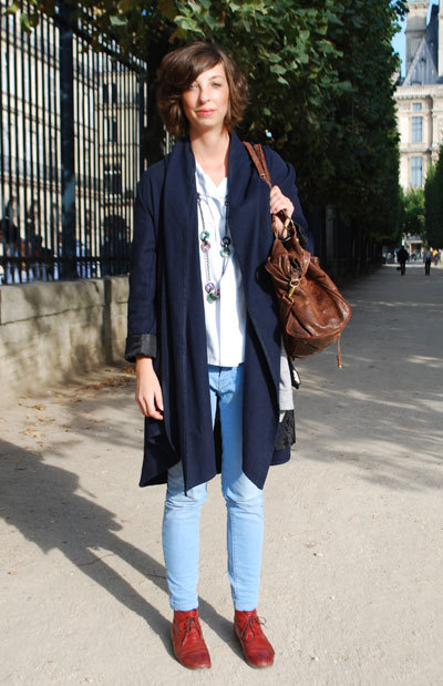 -Street Chic: Paris Photo: Renée Fournier