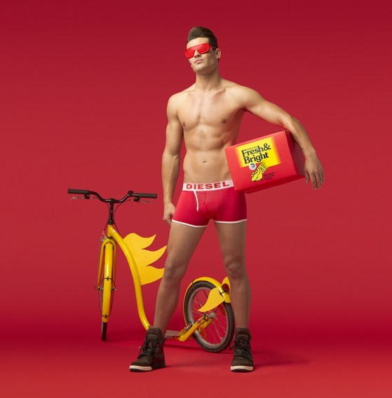 FLASH!  Diesel Underwear Fresh & Bright Superheroes