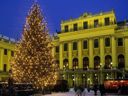 Christmas at Schönbrunn Palace - Austria