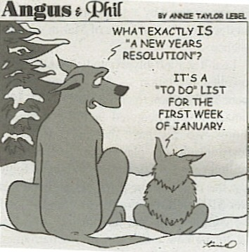Resolutions - who needs them?!