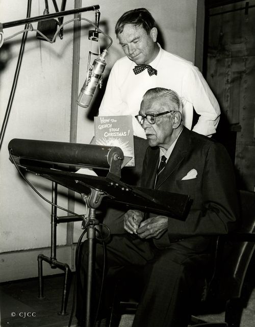 "Chuck Jones & Boris Karloff voicing ""How the Grinch Stole Christmas"""