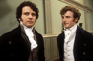 Fitzwilliam Darcy & Charles Bingley One of the oldest and best Bromances of all time. It has jumped off the pages of Austen's original novel and survived adaptations, masterpiece theater, and zombies. There's really not a flaw between them. It's all a matter of personal taste. Tall, dark, and handsome, brooding but sweet vs charming, outgoing, and perfectly agreeable. As such, they act as two sides of the same coin and get each other in ways no one else could. Regardless of the situation, they have each others backs.