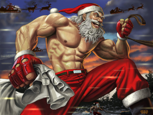 iheartchaos:  SANTA'S ON HIS WAY. TO FUCK YOUR SHIT UP.