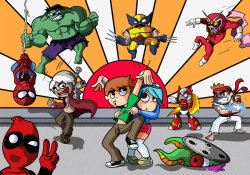 Scott Pilgrim VS. Marvel Capcom