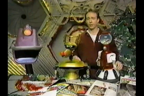 fuckyeahmst3k:  Joel: Have you guys thought about what you want for Christmas? Servo: Yeah, me, me! I want a Ted Williams signature inflatable bathtub pillow! Joel: Ohhh…Gypsy? Gypsy: I want a pony. Joel: Aw, Gypsy, we don't have enough room on the ship for a pony… Gypsy: Please? Please? Joel: No, can't do…what about you, Crow? Crow: I want to decide who lives or who dies.