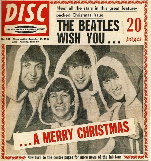 The Beatles wish you a merry Christmas