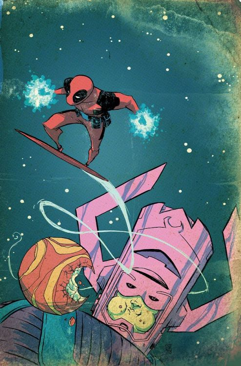 Deadpool Team-Up #883 by Skottie Young