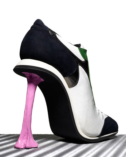 Cool shoe? I think so. Do I want it? heck yes. Would I actually wear it? Perhaps. Will I ever own it? No. Sigh….