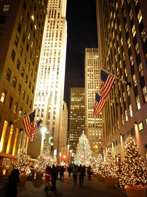 Rockerfeller Center, Manhattan.