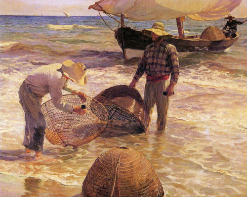 Joaquin Sorolla y Bastida (1863-1923)Pescadores valencianosOil on canvas189585 x 65 cmPrivate collection