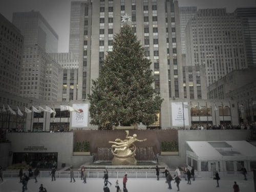 Rockerfeller Center, Manhattan. Thank you for all the kind holiday wishes and messages everyone.