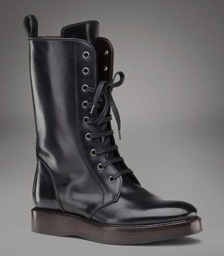 Bottega Veneta - nero calf boot
